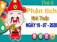 Phân tích XSNT ngày 10/7/2020 – Phân tích xổ số Ninh Thuận thứ 6