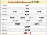 Phân tích kqxs Bình Dương 10/7/2020, chốt số dự đoán XSBD