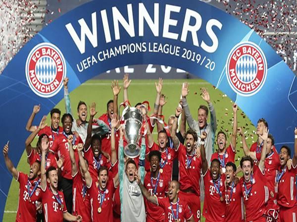 Tin Cup Châu Âu 24-8: Bayern lập kỷ lục tại C1