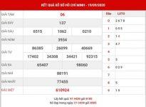 Phân tích kết quả xổ số Hồ Chí Minh thứ 2 ngày 21-9-2020