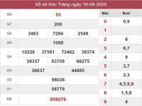 Phân tích kqxs Sóc Trăng ngày 23/9/2020, chốt số tỷ lệ trúng cao