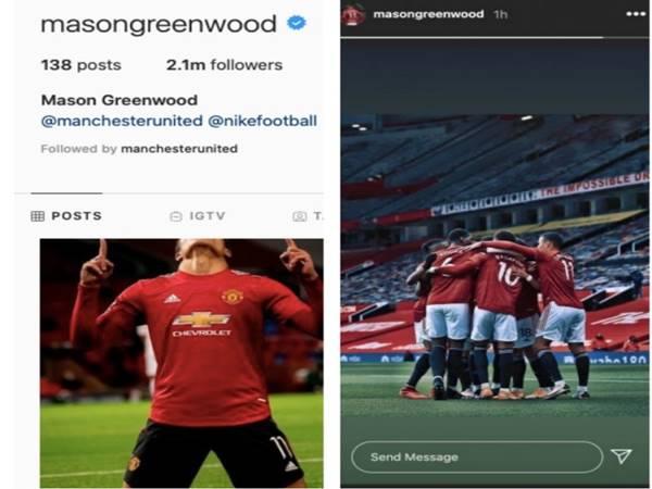 Bóng đá Anh sáng 16-11: Mason Greenwood có động thái mới