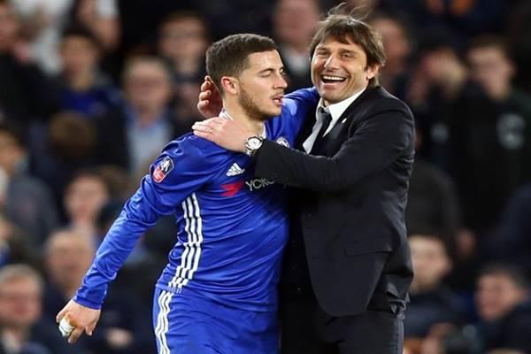 Tin bóng đá tối ngày 3/11: Hazard đối đầu với thầy cũ Conte đêm nay