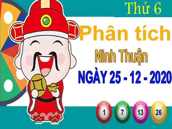 Phân tích XSNT ngày 25/12/2020 – Phân tích xổ số Ninh Thuận thứ 6