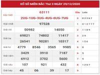 Phân tích dự đoán kết quả XSMB hôm nay ngày 30/12/2020