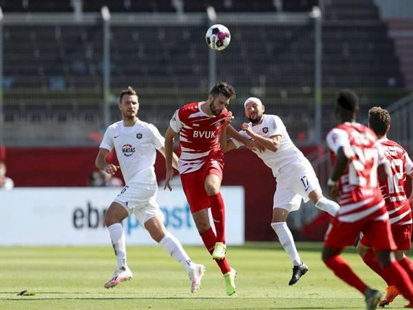 Nhân định trận đấu Wurzburger vs Dusseldorf (00h30 ngày 30/1)