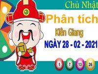 Phân tích XSKG ngày 28/2/2021 – Phân tích KQXS Kiên Giang chủ nhật