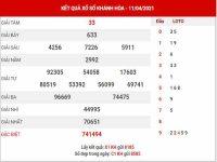 Phân tích XSKH ngày 14/4/2021 – Phân tích KQ xổ số Khánh Hòa thứ 4