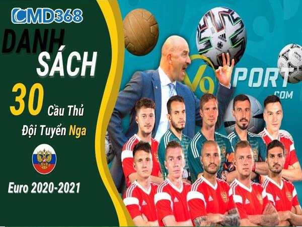 Đội hình mang sức mạnh tiềm ẩn tại VCK Euro 2021