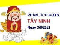 Phân tích KQXSTN ngày 3/6/2021 – Phân tích xổ số Tây Ninh thứ 5 hôm nay