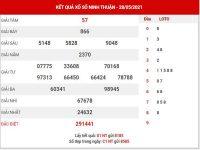 Phân tích XSNT ngày 4/6/2021 – Phân tích KQ NInh Thuận thứ 6 chuẩn xác