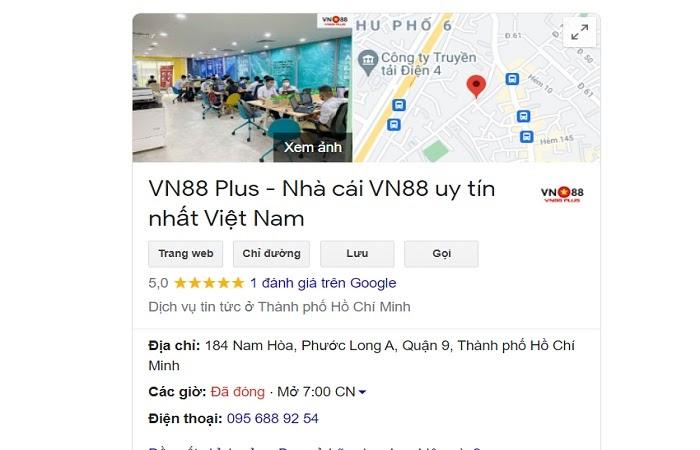 Địa chỉ công ty VN88 Plus – Đại lý nhà cái VN88 ở đâu?