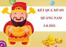 Phân tích Xổ Số Quảng Nam thứ 3 ngày 3/8/2021