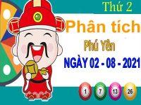 Phân tích XSPY ngày 2/8/2021 – Phân tích xổ số Phú Yên thứ 2