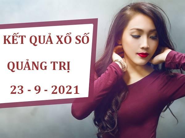 Phân tích kết quả sổ xố Quảng Trị thứ 5 ngày 23/9/2021