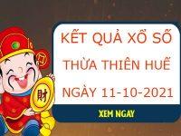 Phân tích xổ số Thừa Thiên Huế 1/10/2021 thứ 2 hôm nay